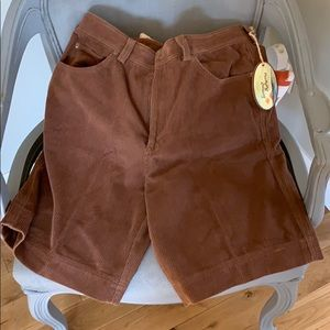 Tommy Bahama men's corduroy shorts.